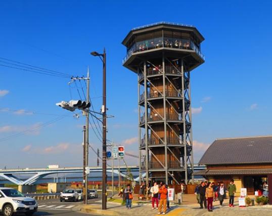 淀川河川公園背割堤地区展望台